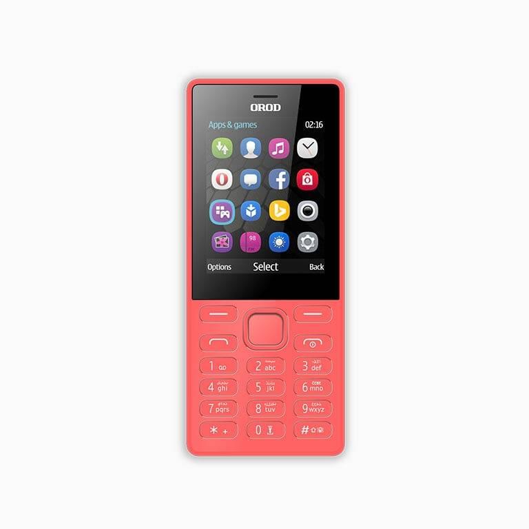 گوشی موبایل OROD 216i دو سیم کارت