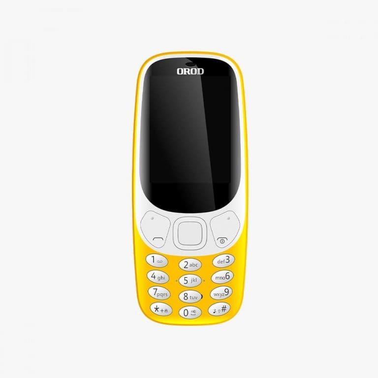 گوشی موبایل OROD 3310 دو سیم کارت