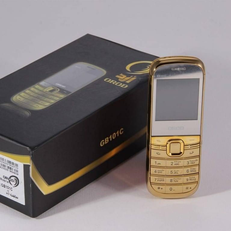 گوشی موبایل OROD GB101C دو سیم کارت