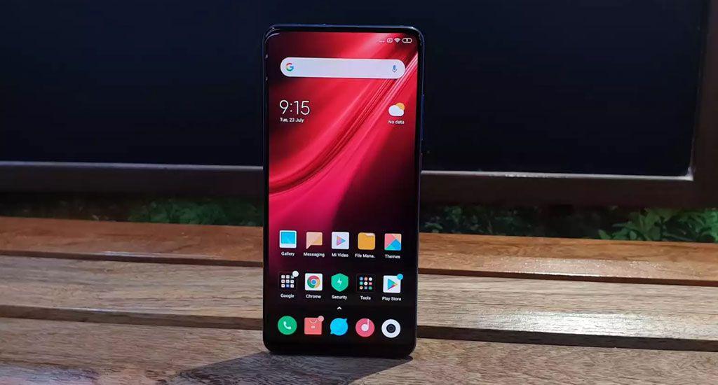 گوشی xiaomi-k20pro با بیشترین نسبت نمایشگر به بدنه