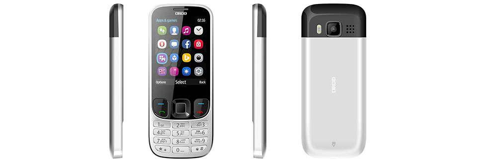 گوشی موبایل OROD مدل 6303 دو سیم کارت