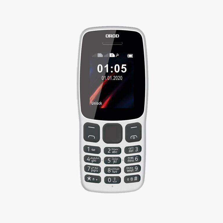 گوشی موبایل OROD 106 دو سیم کارت