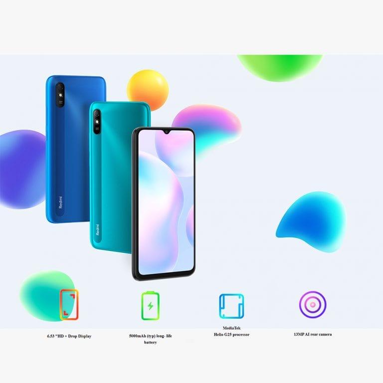 گوشی موبایل شیائومی Redmi 9A M2006C3LG ظرفیت 32 گیگابایت و رم 2 گیگابایت