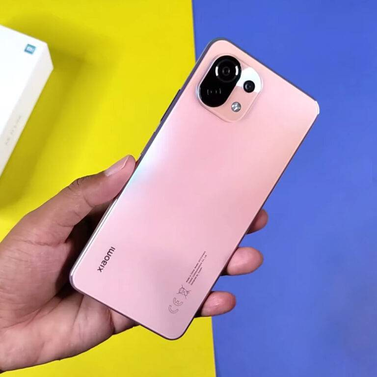 گوشی موبایل شیائومی Mi 11 Lite M2101K9AG ظرفیت 128 گیگابایت و رم 6 گیگابایت